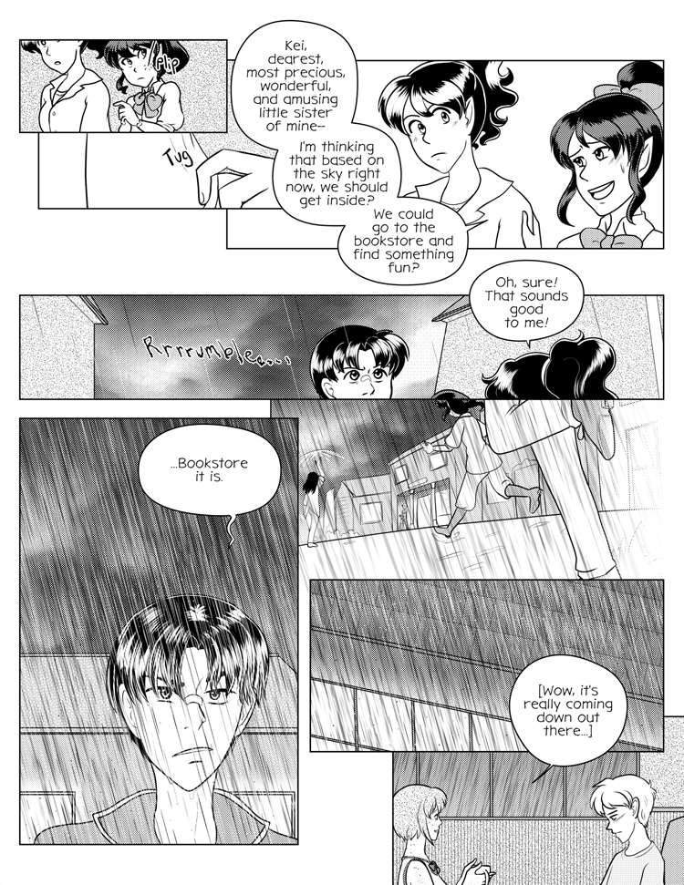 Surprisingly, this page is mirroring the weather as I upload this page. It was nice, and then BAM, GROSS AND RAINY